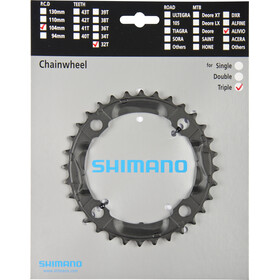 Shimano Alivio FC-M430 Platos, black